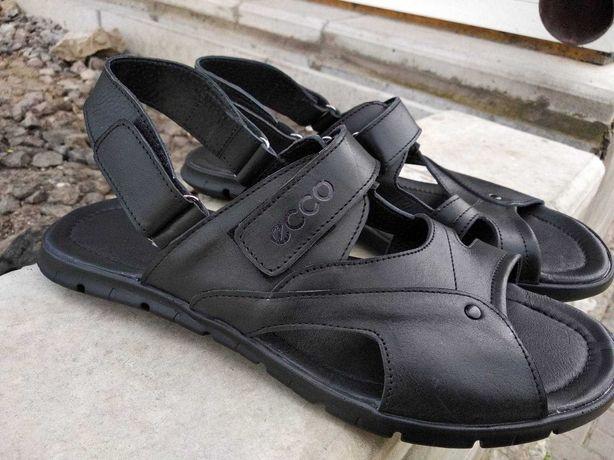 Сандалии шлёпанцы мужские чоловічі сандалі кожаные до 48 размера