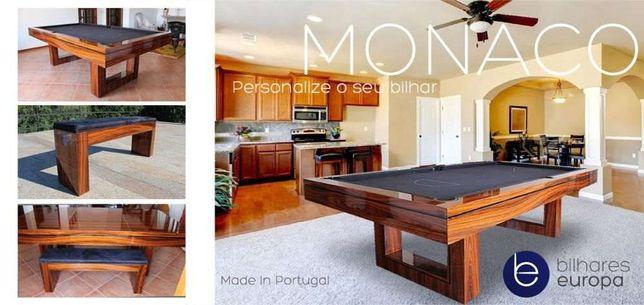 Bilhar Monaco Pau Ferro oferta tampo de jantar ping pong