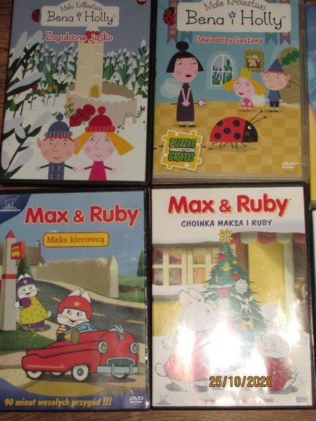 Kompakty z bajkami dla dzieci dvd pakiet