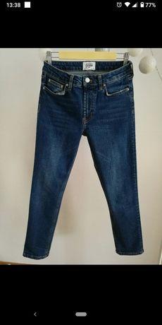 Klasyczne spodnie jeansowe denim Zara r 38