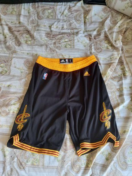 Calções originais Adidas NBA Cleveland Cavaliers
