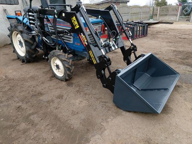 Ładowacz czołowy Tur 4 mini traktorek Kubota Yanmar Isek euro ramka