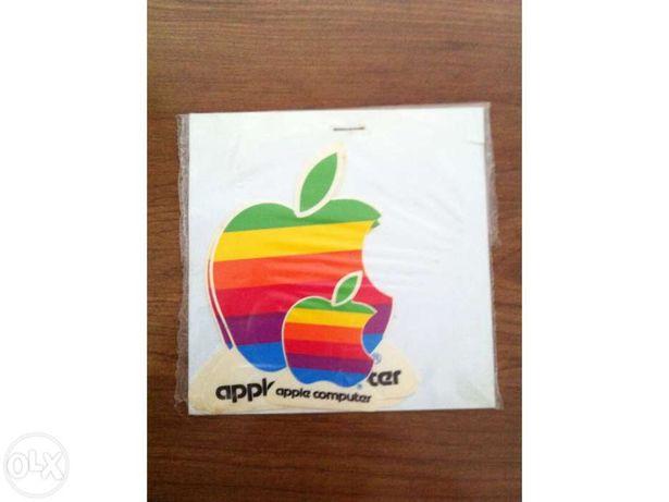 Autocolante Apple Sticker Rainbow Apple