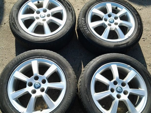 Alufelgi 16 5x108 Jaguar Ford Volvo w bardzo dobrym stanie Białystok