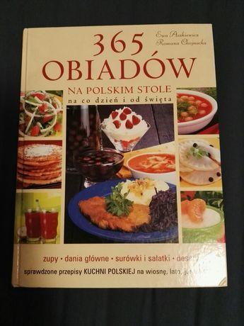 Książka kucharska 365 OBIADÓW