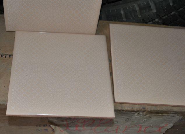 glazura terakota płytki ścienne podłogowe PRL