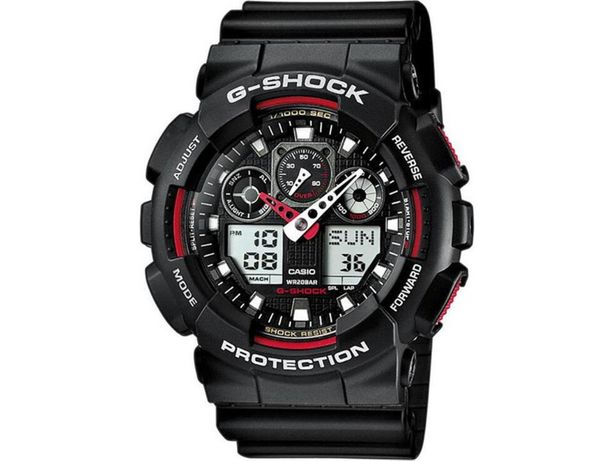 Oryginalny zegarek Casio G-SHOCK GA-100-1A4ER z Polski