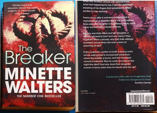 Minette Walters - The Breaker (книга на английском)