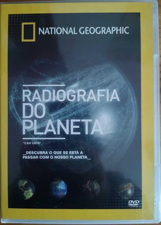 """DVD """"Radiografia Do Planeta"""" National Geographic"""