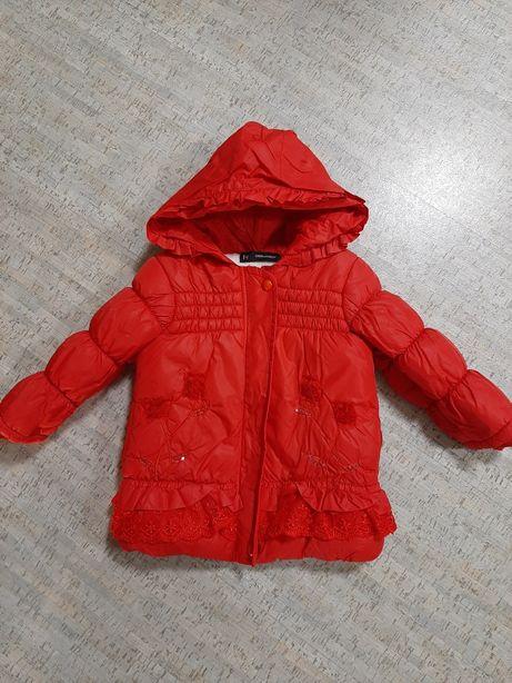 Очень  красивая  и тёплая  курточка
