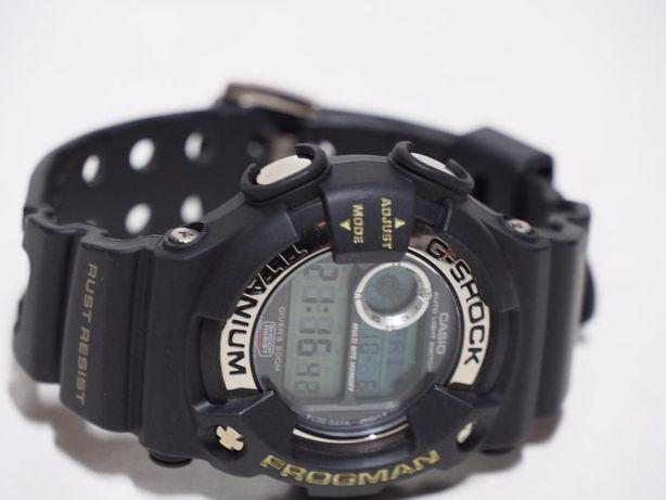 CASIO FROGMAN zegarek g-shock titanium DW-9900-B1 tytanowy nurkowy