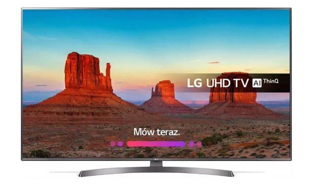 Telewizor LG 43UK6750 4K UHD LED, Odświeżanie: 100 Hz, Wi-Fi, Smart TV