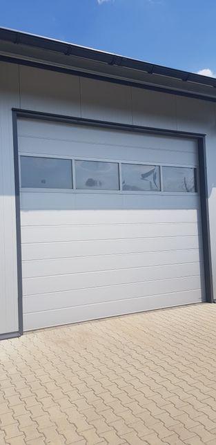 Brama garażowa segmentowa Bramy garazowe przemysłowe producent