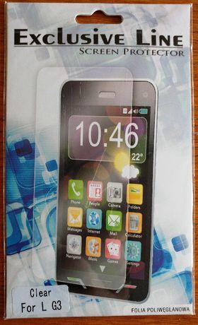 Nowa folia poliwęglanowa na wyświetlacz do telefonu LG G3