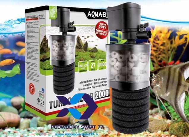 Aquael TURBO FILTER 500->2000 nowy 2l. gwar. - Filtr wew - akwarium