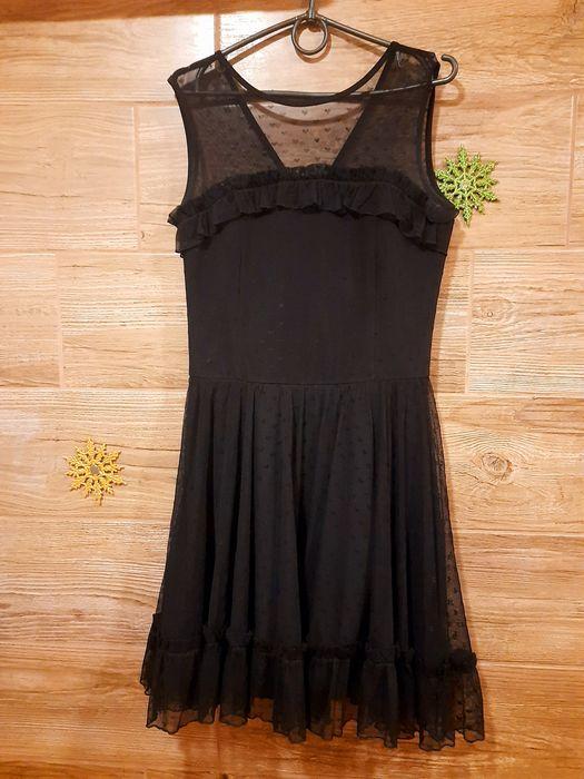 Платье чёрное для девушки размер 42-44 Сарата - изображение 1