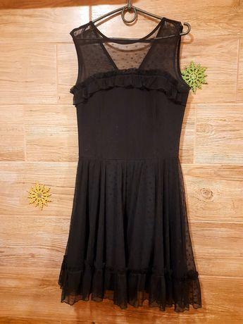 Платье чёрное для девушки размер 42-44