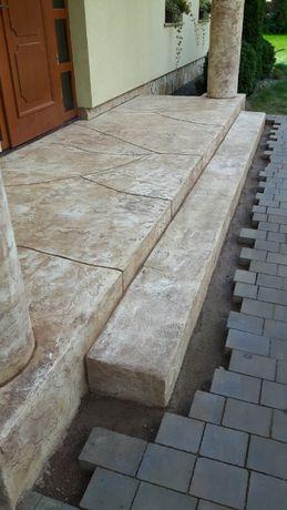 Beton stemplowany,press beton,beton odciskany - Koszalin