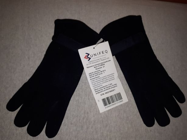 Nowe Rękawiczki Zimowe Pięciopalcowe wz.615MON Rozmiar 21