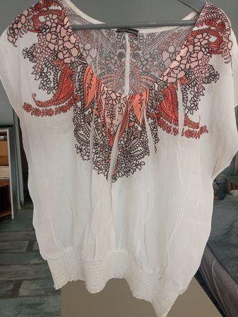 Bluzeczka z marszczonej tkaniny L