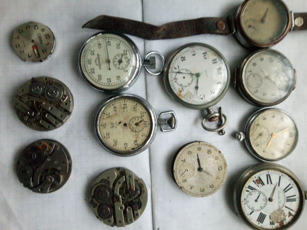 Старинные часы Докса Кировские Dualite Boutte и другие секундомеры