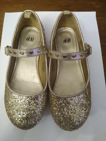 Buty dziewczęce, pantofelki