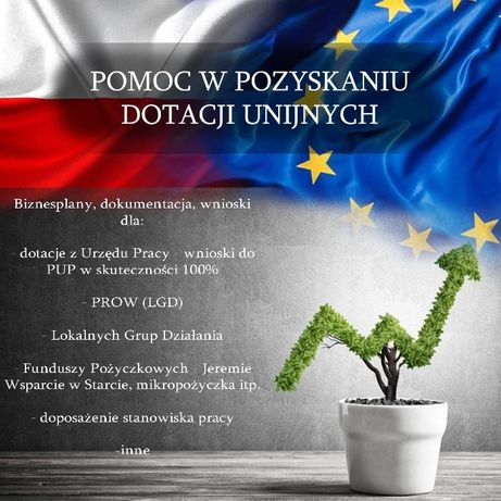 Biznesplan, wniosek, dotacje, ARiMR Pozarolnicza 6.2, LGD, PUP, UP
