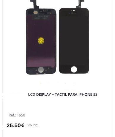 Displays e todo tipo de peças para telemóveis