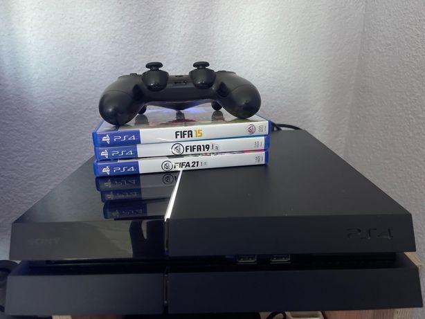 PlayStation 4 500GB Okazja 3Gry gratis kabel zasilający + Pad okazja