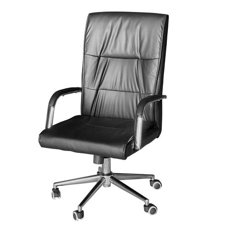 Офисное компьютерное кресло Santanna в кожзаме, НОВОЕ