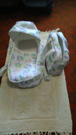 Alcofa e saco de bebé (para desocupar)