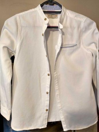 Koszula biała Zara rozm.140