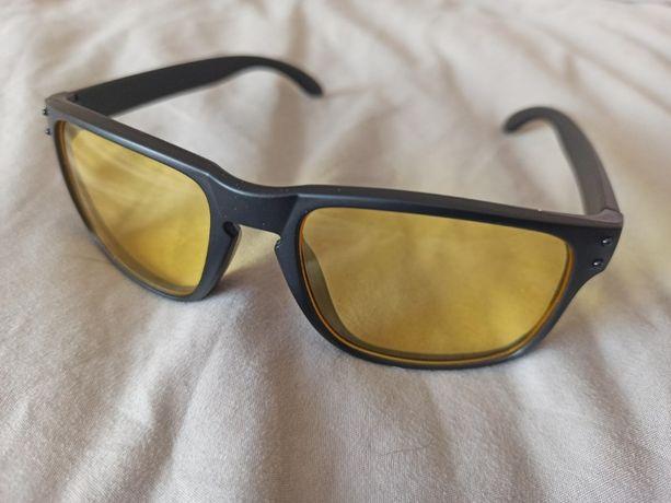 Прямоугольные Солнцезащитные очки деньночь
