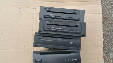 ZMIENIARKA PŁYT CD czytnik nawigacji navi Audi A4 b6 b7 a6 c5 a3 8p