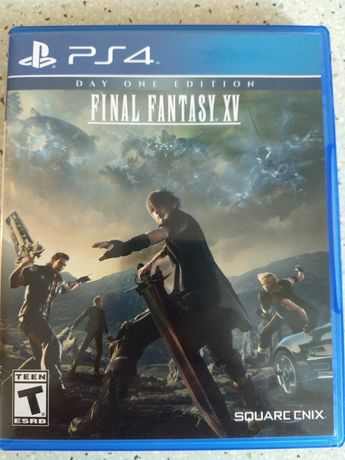 Диск Final Fantasy 15 (Playstation 4) PS4