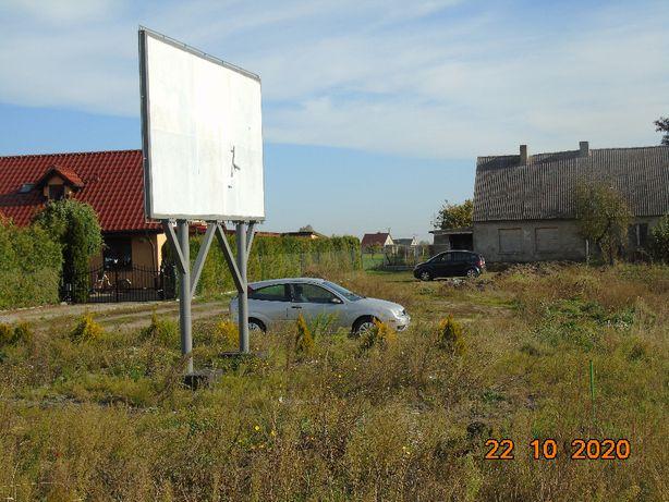 Żnin- Dom (bliźniak) do remontu+duży garaż+Billboard !dobra inwestycja