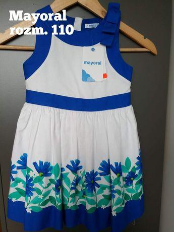 Sukienka letnia rozmiar 110