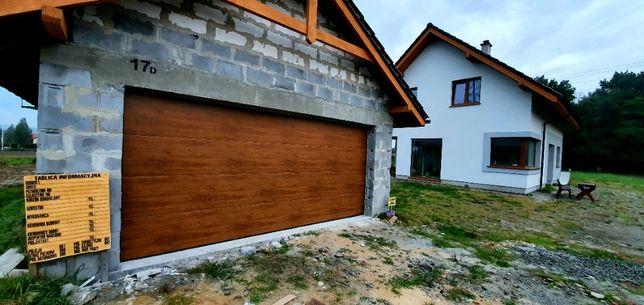 Brama garażowa segmentowa - Bramy drzwi garażowe segmentowe