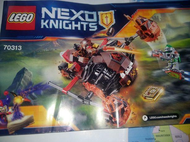 Lego Nexo Knights Лавинный разрушитель Молтора (70313)