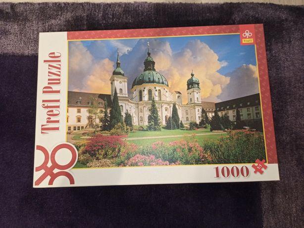 Puzzle 1000 elementów Trefl nowe- Klasztor Benedyktynów w Ettal
