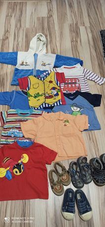 Ubranka dla chłopca 0-8mcy