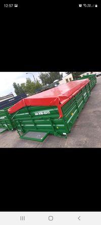 Zabudowa przyczepy rolniczej HL 6011 HW
