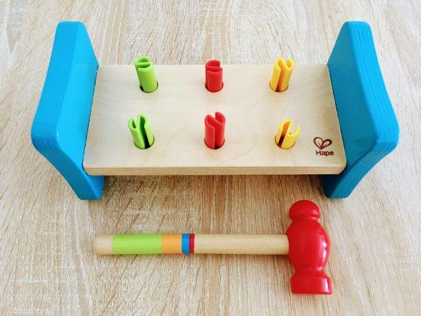 """Okazja! Piękna szwajcarska zabawka """"Pierwszy młoteczek"""" dla dzieci"""