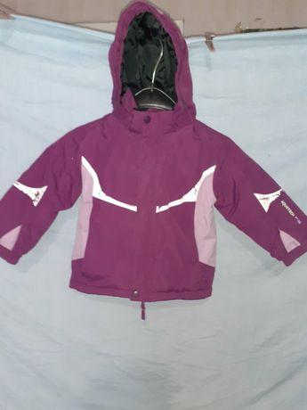 Куртка и штанишки зимние. Комплект