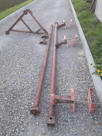 Wyciąg dźwig żuraw budowlany wciągarka budowlana