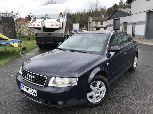 Audi A4 b6_Niemiec_2.0 benzyna_230tys km_Pakiet Chrom_IDEAŁ_Bezwypadek