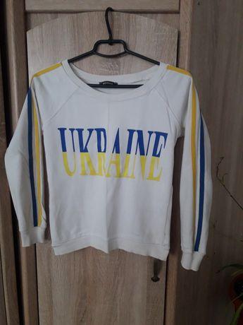 Свитшот белый ukraine