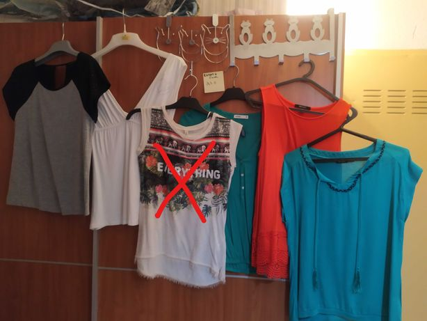 Tops e blusas - 3,50€ (veste S/M)