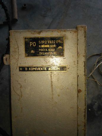 Пусковой шкаф для запуска электродвигателя