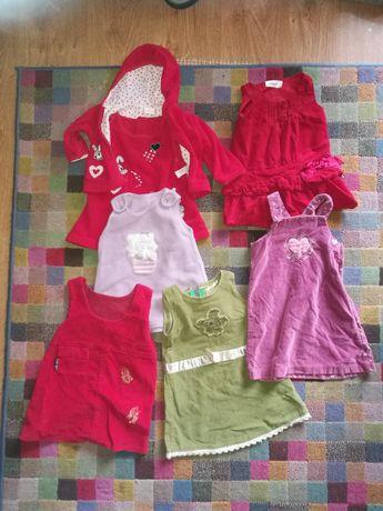 Ubranka dzieciece rozne rozmiary